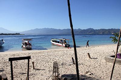 Giliöarna - Res till Bali