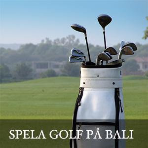 Spela golf på Bali - Resa till Bali